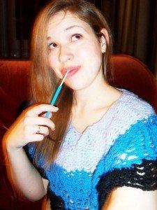 C'est lundi, que crochetez-vous, cousez-vous, tricotez-vous… Bref, que faites-vous ? #9 dans Crochet hook-225x300